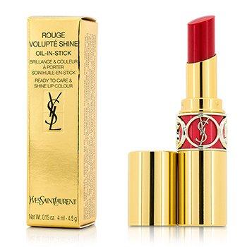 Yves Saint Laurent Rouge Volupte Shine Oil In Stick - # 45 Rouge Tuxedo  4.5g/0.15oz