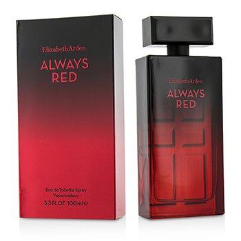 Elizabeth Arden Always Red Eau De Toilette Spray  100ml/3.3oz