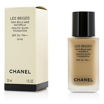 Chanel Podkład do twarzy z filtrem UV Les Beiges Healthy Glow Foundation SPF 25 - No. 40  30ml/1oz