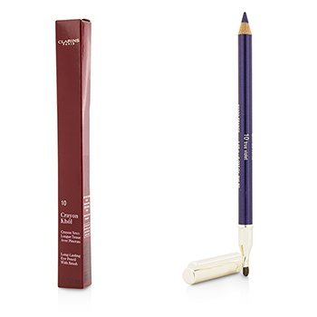 Clarins Kredka do brwi Long Lasting Eye Pencil with Brush - # 10 True Violet  1.05g/0.037oz
