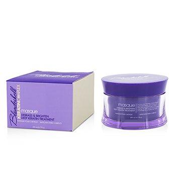 Keratin Complex Blondeshell Masque (Debrass & Brighten Tratamiento Profundo)  200ml/6.7oz