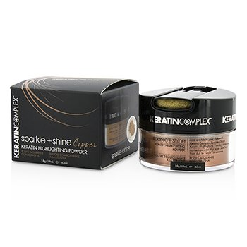 Keratin Complex Fashion Therapy Sparkle + Shine Keratin Polvo Iluminador - # Copper  19ml/0.63oz
