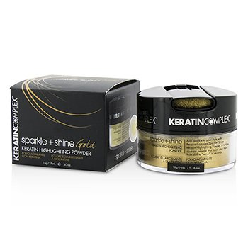 Keratin Complex Fashion Therapy Sparkle + Shine Keratin Polvo Iluminador - # Gold  19ml/0.63oz