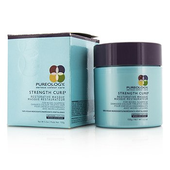 Pureology Strength Cure Restorative Masque (Para Cabello Teñido Dañado Micro Dañado)  150ml/5.2oz