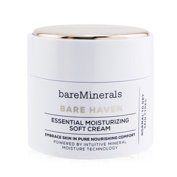 BareMinerals Bare Haven Essential Moisturizing Soft Cream - Normal To Dry Skin Types  50g/1.7oz