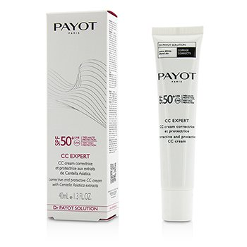 Payot Dr Payot Solution CC Expert Corrective and Protective CC Cream SPF 50+  40ml/1.3oz