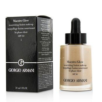 Giorgio Armani Maestro Glow Nourishing Fusion Maquillaje SPF 30 - #5  30ml/1oz