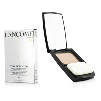 Lancome Teint Idole Ultra Compact Powder Foundation (Long Wear Matte Finish) - #02 Lys Rose  11g/0.38oz