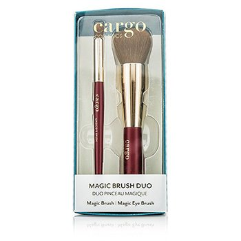 カーゴ Magic Brush Duo: 1x Magic Brush, 1x Magic Eye Brush  2pcs