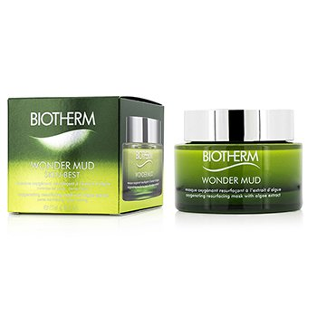 Biotherm Maseczka do twarzy Skin Best Wonder Mud Oxygenating Resurfacing Mask With Algae Extract  75ml/2.53oz