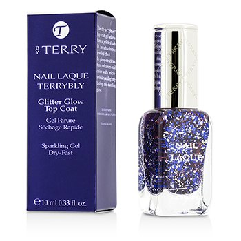 By Terry Nail Laque Terrybly Gitter Glow Top Coat - # 700  10ml/0.33oz