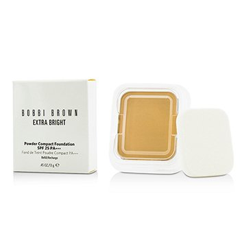 Bobbi Brown Extra Bright Powder Compact Foundation SPF 25 Refill - #2 Sand  13g/0.45oz