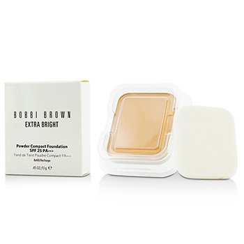 Bobbi Brown Extra Bright Powder Compact Foundation SPF 25 Refill - #3 Beige  13g/0.45oz