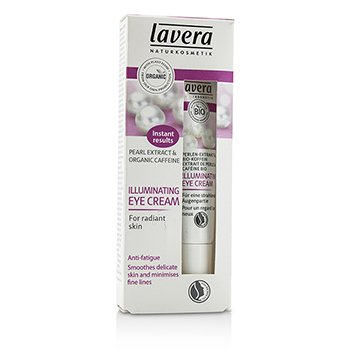Lavera Organic Pearl Extract & Caffeine Illuminating Eye Cream  15ml/0.5oz