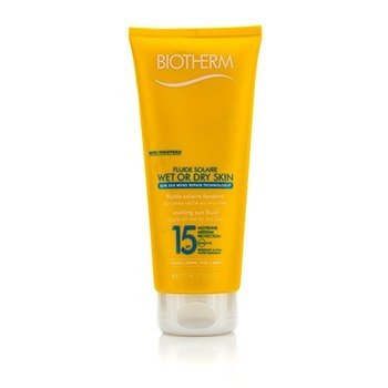 Biotherm Fluide Solaire Wet Or Dry Skin Melting Sun Fluid SPF 15 For Face & Body - Water Resistant  200ml/6.76oz