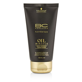 Schwarzkopf BC Oil Miracle Gold Shimmer Conditioner (For Normal to Thick Hair)  150ml/5oz