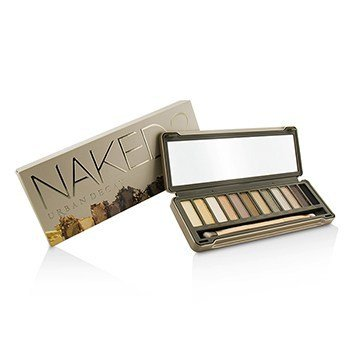 アーバンディケイ Naked 2 Eyeshadow Palette: 12x Eyeshadow, 1x Doubled Ended Shadow Blending Brush