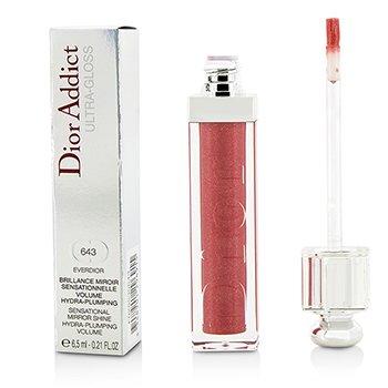 Christian Dior Dior Addict Ultra Gloss (Sensational Mirror Shine) - No. 643 Everdior  6.5ml/0.21oz