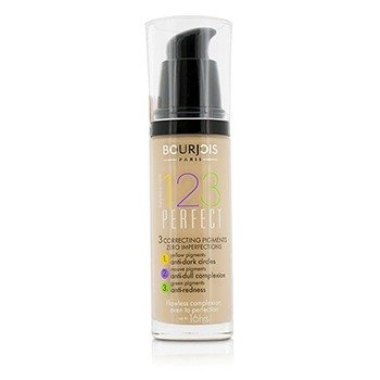 Bourjois 123 Perfect Foundation SPF 10 - No. 56 Rose Beige  30ml/1oz