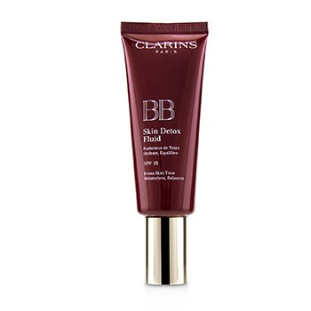 Clarins Podkład do twarzy z filtrem UV BB Skin Detox Fluid SPF 25 - #00 Fair  45ml/1.6oz
