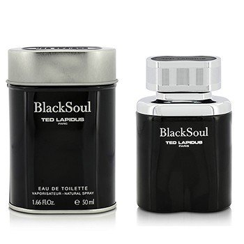 Ted Lapdius Black Soul Eau De Toilette Spray  50ml/1.66oz