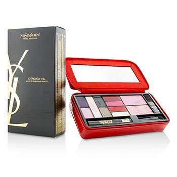 Yves Saint Laurent Extremely YSL Make Up Essentials Palette (5x Powder Eye Shadow, 2x Powder Blusher, 4x Solid Lipcolour, 1x Mini Mascara, 3x Mini Applicator, 1x Case)