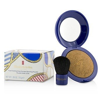 Elizabeth Arden بودرة اسمرار Pure Finish Summber Excape - # 02 إشراقة عميقة  7.5g/0.26oz