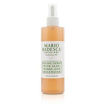 Mario Badescu Facial Spray with Aloe, Herbs & Rosewater - For All Skin Types  236ml/8oz