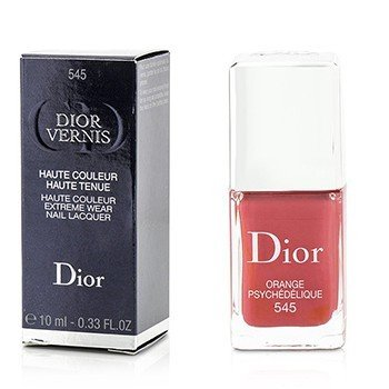 Christian Dior Dior Vernis Haute Couleur Extreme Wear Nail Lacquer - # 545 Psychedelic Orange  10ml/0.33oz