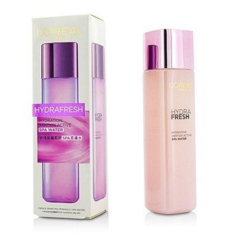 L'Oreal Hydrafresh Hydration+ Antiox Active SPA Water - For Normal to Dry Skin  175ml/5.8oz