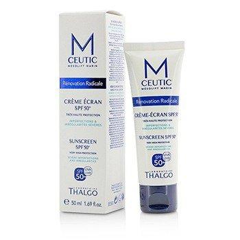 Thalgo MCEUTIC Sunscreen SPF 50+ UVA/UVB veldig høy beskyttelse  50ml/1.69oz