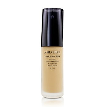 Shiseido Synchro Skin Lasting Liquid Foundation SPF 20 - Neutral 3  30ml/1oz