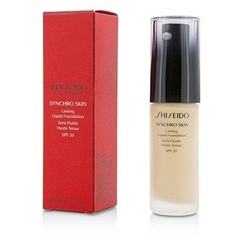 Shiseido Synchro Skin Lasting Liquid Foundation SPF 20 - Rose 1  30ml/1oz