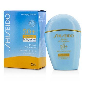 Shiseido Perfect UV Protector S WetForce SPF 50+ PA++++ (For Sensitive Skin & Children)  50ml/1.7oz