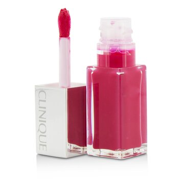 Clinique Pop Lacquer Lip Colour + Primer  - # 04 Sweetie Pop  6ml/0.2oz