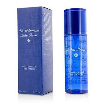 Acqua Di Parma Blu Mediterraneo Italian Resort Face & Eye Cleansing Oil  200ml/6.7oz