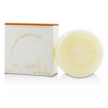 Hermes Eau Des Merveilles Jabón Perfumado (Nuevo Empaque)  100g/3.5oz