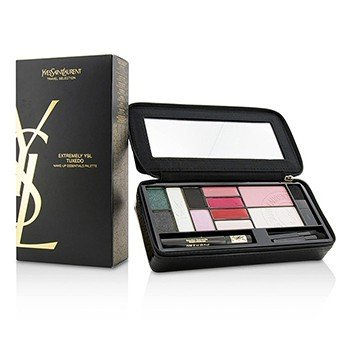 Yves Saint Laurent Extremely YSL Tuxedo Make Up Essentials Palette (5x Powder Eye Shadow, 1x Powder Blusher, 1x Powder Highlighter, 4x Solid Lipcolour, 1x Mini Mascara, 3x Mini Applicator, 1x Case)