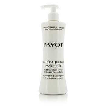 Payot Les Demaquillantes Lait Demaquillant Fraicheur Silky-Smooth Cleansing Milk - For All Skin Types  400ml/13.5oz