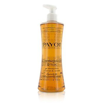 Payot Les Demaquillantes Gel Demaquillant D'Tox Gel Limpiador Con Extracto de Canela - Piel Normal a Mixta  400ml/13.5oz