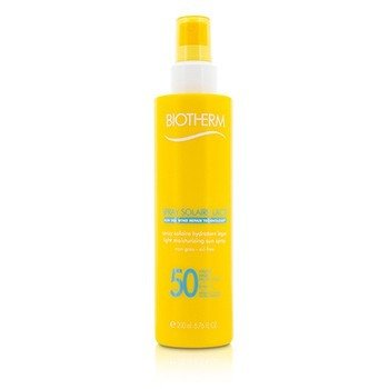 Biotherm Spray Solaire Lacte Light Moisturizing Sun Spray SPF 50  200ml/6.76oz