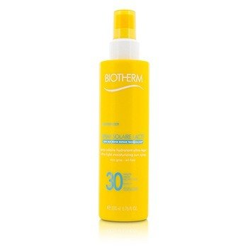 Biotherm Spray Solaire Lacte Ultra-Light Moisturizing Sun Spray SPF 30  200ml/6.76oz