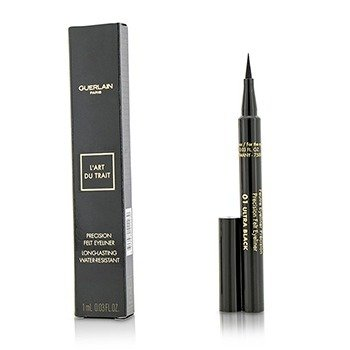 Guerlain Precision Felt Eyeliner - # 01 Ultra Black  1ml/0.03oz