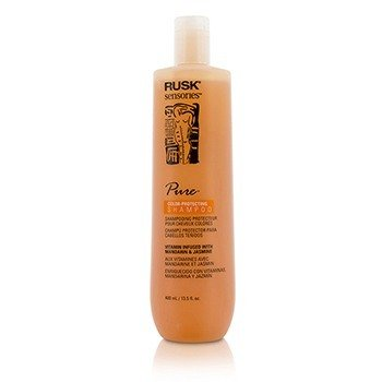 Rusk Sensories Pure Mandarin & Jasmine Color-Protecting Shampoo  400ml/13.5oz