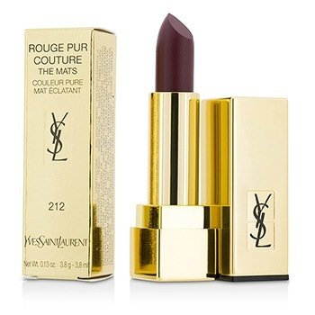 Yves Saint Laurent Rouge Pur Couture The Mats - # 212 Alternative Plum  3.8g/0.13oz