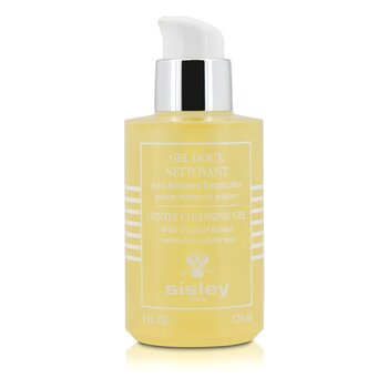 Sisley Gentle Cleansing Gel With Tropical Resins - For Combination & Oily Skin  120ml/4oz