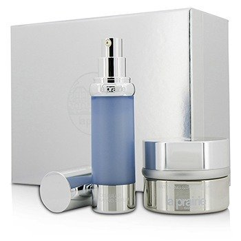 La Prairie Cellular Perfection Companions Set: Anti Aging Stress Cream 50ml/1.7oz + Cellular Hydrating Serum 30ml/1oz  2pcs