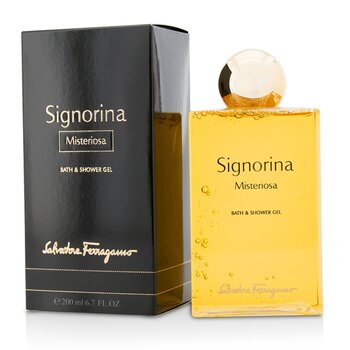 Salvatore Ferragamo Signorina Misteriosa Bath & Shower Gel  200ml/6.7oz