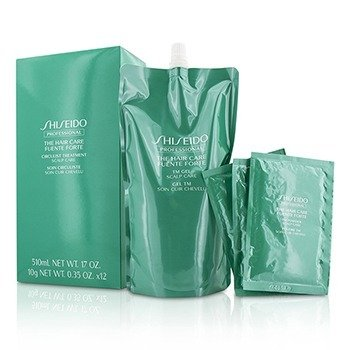 Shiseido The Hair Care Fuente Forte Circulist Treatment - Scalp Care (1x TM Gel 510ml + 12x TM Powder 10g)  -