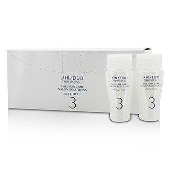 Shiseido The Hair Care Salon Solutions In-Cuticle (Hair Surface Repair)  12x15ml/0.5oz